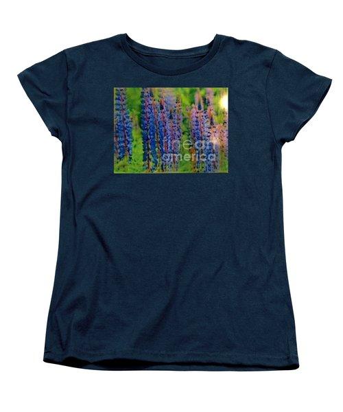Lois Love Of Lupine Women's T-Shirt (Standard Cut)