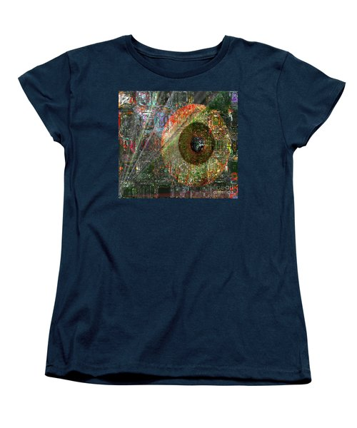 Savior Watching Over Me Women's T-Shirt (Standard Cut) by Fania Simon