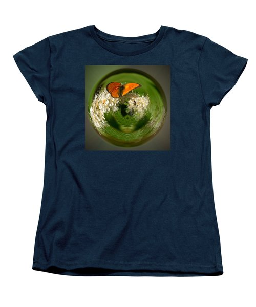 Women's T-Shirt (Standard Cut) featuring the photograph  Scarce Copper 3 by Jouko Lehto