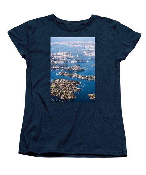 Sydney Vibes Women's T-Shirt (Standard Cut) by Parker Cunningham