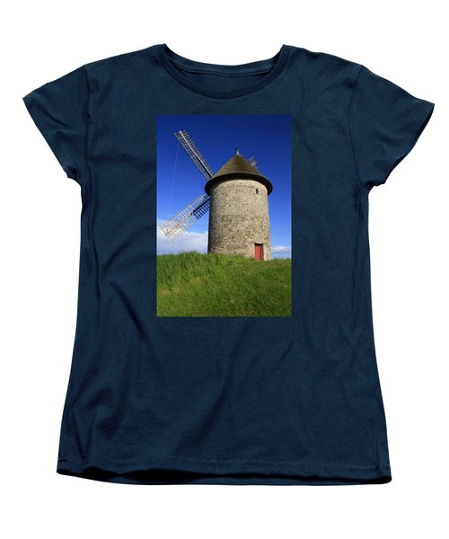 The Old Mill Women's T-Shirt (Standard Cut) by Martina Fagan