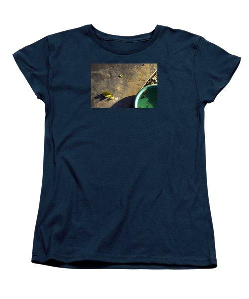 Women's T-Shirt (Standard Cut) featuring the photograph  Three Is Family by Prakash Ghai