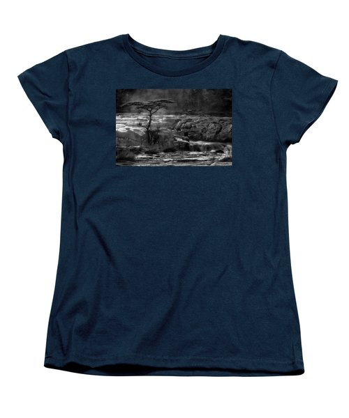 Women's T-Shirt (Standard Cut) featuring the photograph  Wood by Hayato Matsumoto
