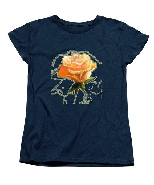 Yellow Roses Women's T-Shirt (Standard Cut) by Vesna Martinjak