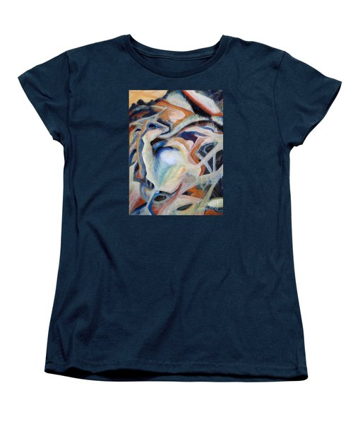 01317 Process Women's T-Shirt (Standard Cut) by AnneKarin Glass