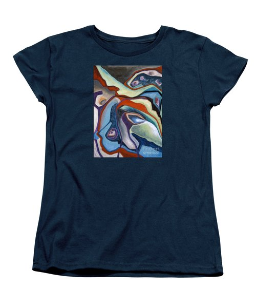 01318 Maybe Women's T-Shirt (Standard Cut) by AnneKarin Glass