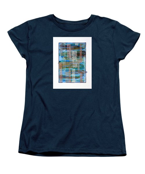 01332 Straight Women's T-Shirt (Standard Cut) by AnneKarin Glass