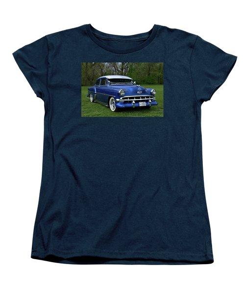 1954 Chevrolet Street Rod Women's T-Shirt (Standard Cut) by Tim McCullough