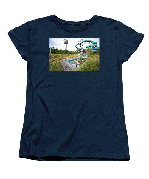 abandoned swimming pool - Urban exploration Women's T-Shirt (Standard Cut) by Dirk Ercken