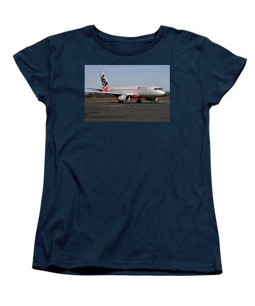 Airbus A320-232 Women's T-Shirt (Standard Cut) by Tim Beach