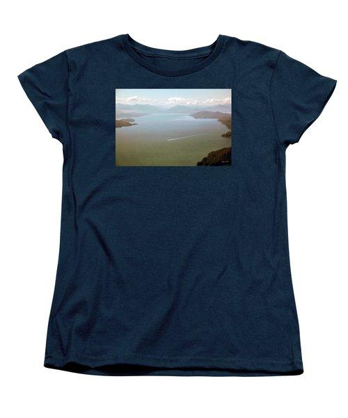 Women's T-Shirt (Standard Cut) featuring the photograph Alaska The Beautiful by Madeline Ellis