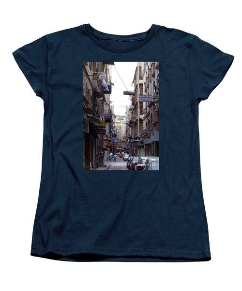 Aleppo Street01 Women's T-Shirt (Standard Cut)