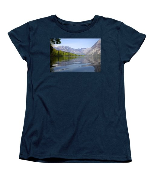 Women's T-Shirt (Standard Cut) featuring the photograph Alpine Clarity by Ian Middleton