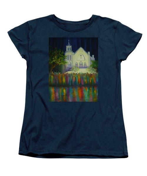 Amazing Grace Women's T-Shirt (Standard Cut) by Dorothy Allston Rogers