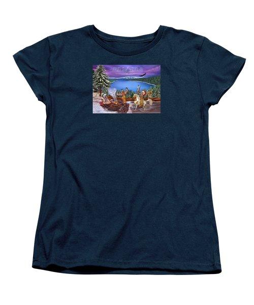Among The Spirits Women's T-Shirt (Standard Cut) by Glenn Holbrook