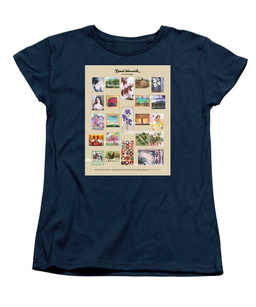 Art Collection Women's T-Shirt (Standard Cut) by Renee Womack