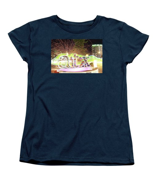 atx Women's T-Shirt (Standard Cut) by Andrew Nourse