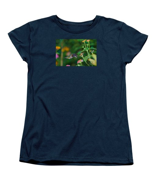 Awesome Beauty Women's T-Shirt (Standard Cut) by Donna Brown