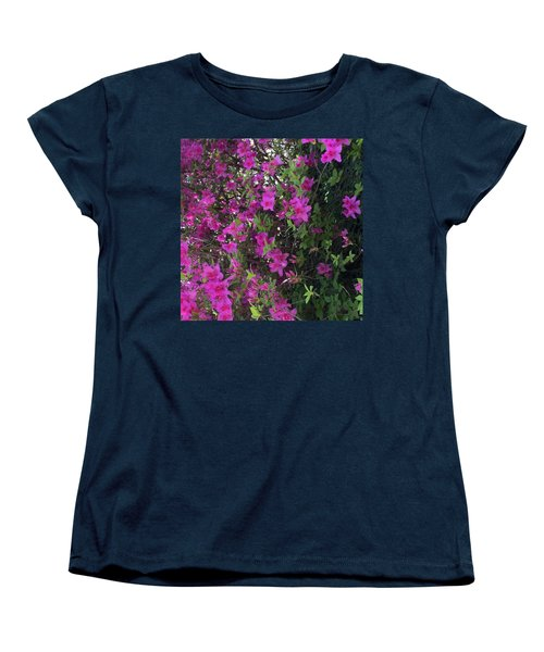 Azaleas Women's T-Shirt (Standard Cut) by Kay Gilley