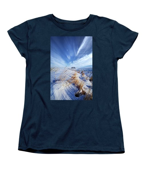 Women's T-Shirt (Standard Cut) featuring the photograph Azure by Phil Koch