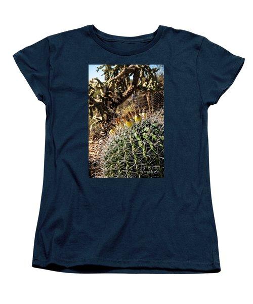 Barrel Cactus Women's T-Shirt (Standard Cut)