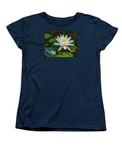 Beautiful Lotus Women's T-Shirt (Standard Cut) by Susi Stroud