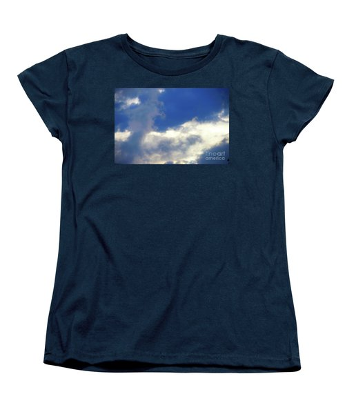Women's T-Shirt (Standard Cut) featuring the photograph Blue by Jesse Ciazza