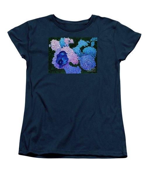 Bluebird Women's T-Shirt (Standard Cut) by Michael Frank