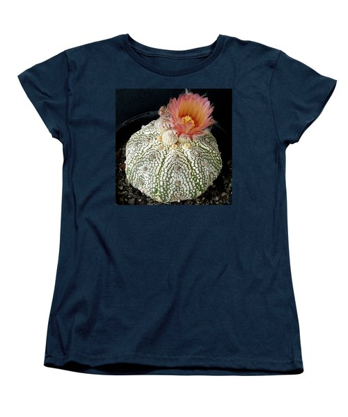Cactus Flower 4 Women's T-Shirt (Standard Cut) by Selena Boron