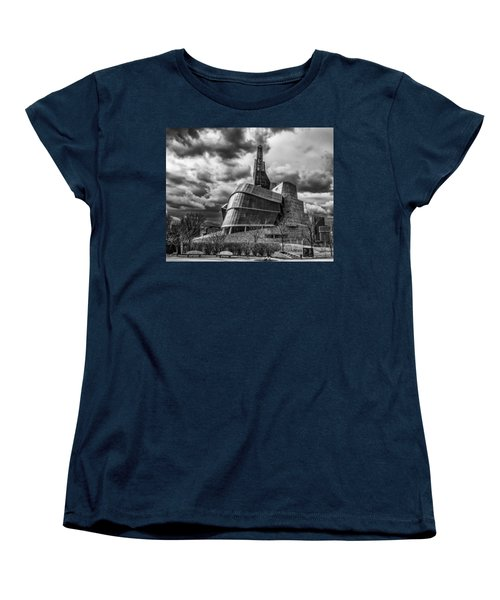 Canadian Museum For Human Rights Women's T-Shirt (Standard Cut) by Tom Gort