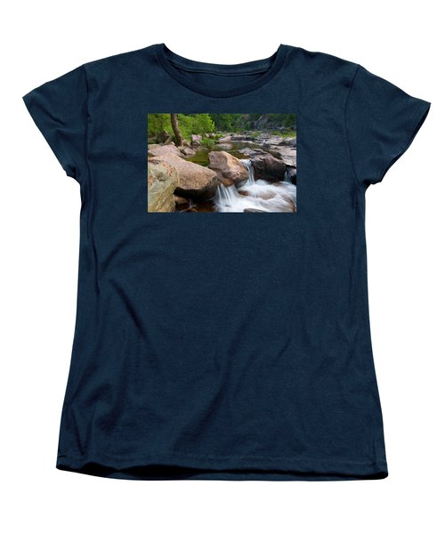 Women's T-Shirt (Standard Cut) featuring the photograph Castor River Shut-ins by Steve Stuller