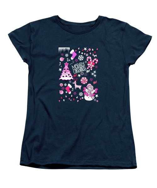 Christmas Women's T-Shirt (Standard Cut) by Mark Ashkenazi