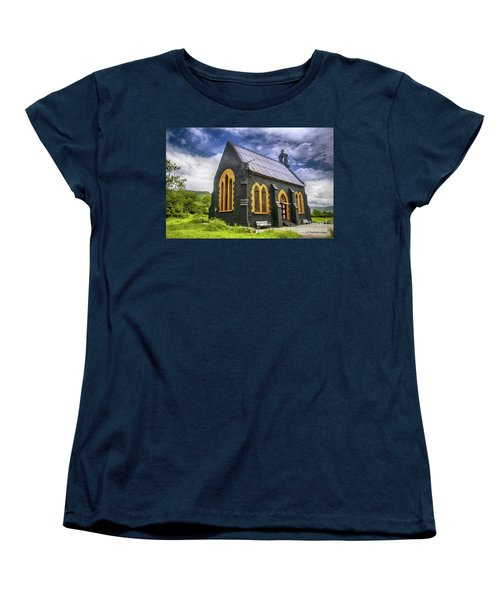 Women's T-Shirt (Standard Cut) featuring the photograph Church by Charuhas Images