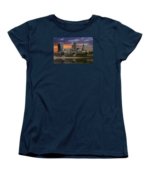 City Of London Women's T-Shirt (Standard Cut) by David French