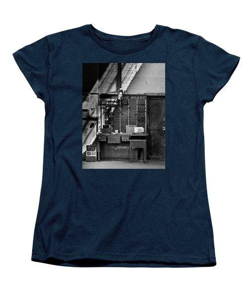 Clocked Out Women's T-Shirt (Standard Cut) by Jeffrey Jensen