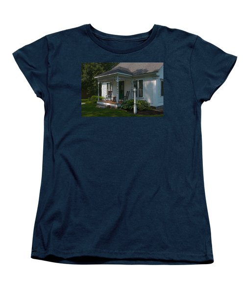 Come Sit On My Porch Women's T-Shirt (Standard Cut) by Brenda Jacobs