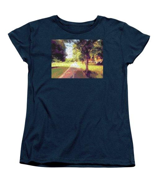 Contemporany Women's T-Shirt (Standard Cut) by Beto Machado