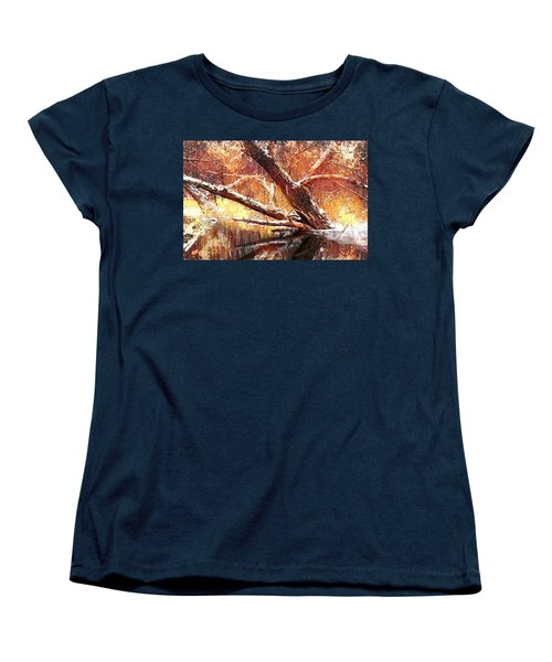 Cordukes Creek  Women's T-Shirt (Standard Cut) by Jim Vance
