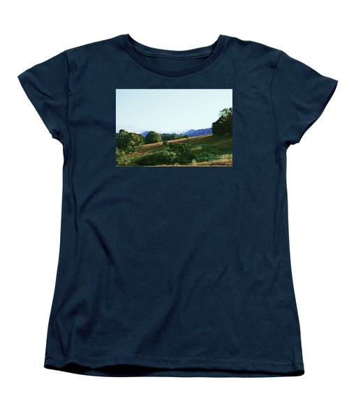 Women's T-Shirt (Standard Cut) featuring the photograph Creator's Sky Painting by Polly Peacock