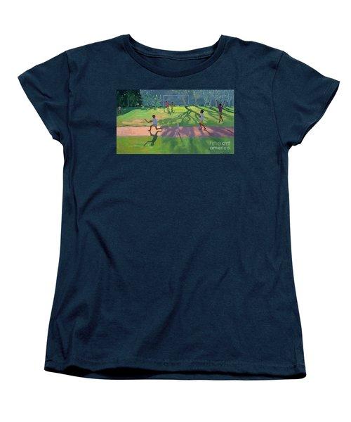 Cricket Sri Lanka Women's T-Shirt (Standard Cut) by Andrew Macara