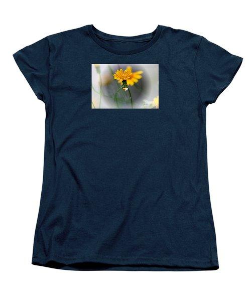 Double Yellow Women's T-Shirt (Standard Cut) by Yumi Johnson
