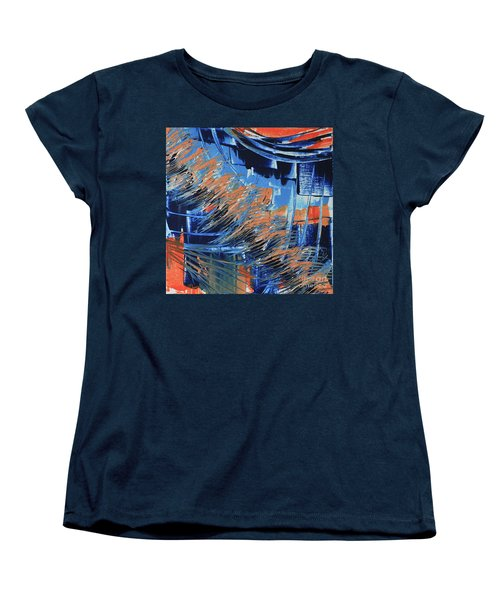 Women's T-Shirt (Standard Cut) featuring the painting Dreaming Sunshine  by Cathy Beharriell