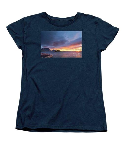 Dreamy Sunset Women's T-Shirt (Standard Cut) by Maciej Markiewicz