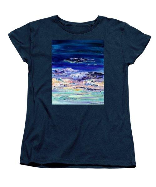 Dusk Imagining Women's T-Shirt (Standard Cut) by Regina Valluzzi