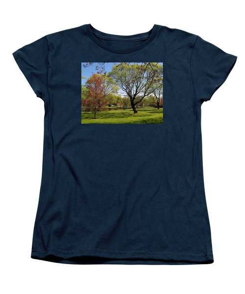 Early Spring Women's T-Shirt (Standard Cut) by John Scates