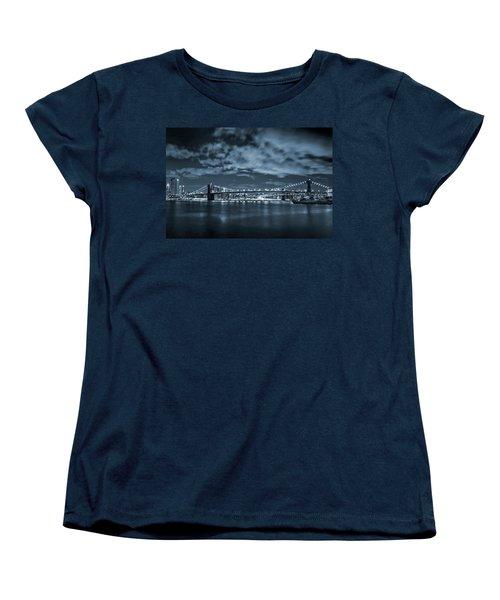 East River View Women's T-Shirt (Standard Cut) by Az Jackson