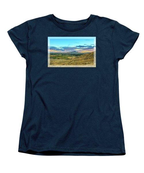 Women's T-Shirt (Standard Cut) featuring the photograph Emmett Valley by Robert Bales
