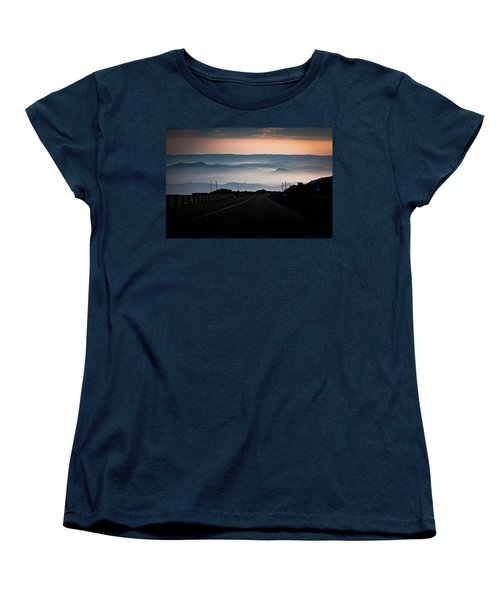 Etna Road Women's T-Shirt (Standard Cut) by Bruno Spagnolo