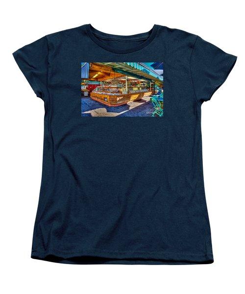 Fairfax Farmers Market Women's T-Shirt (Standard Cut) by David Zanzinger