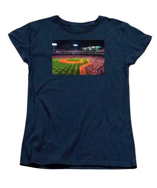 Fenway Park At Night - Boston Women's T-Shirt (Standard Cut)